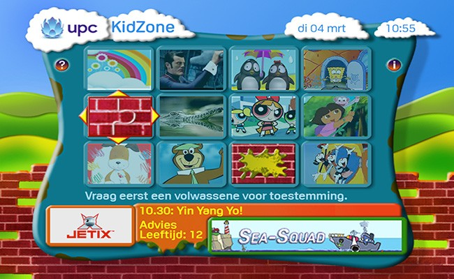 Kidzone-menu-blocked