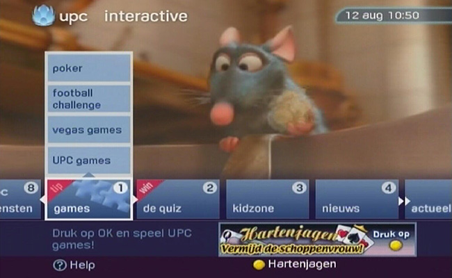 UPC interactive
